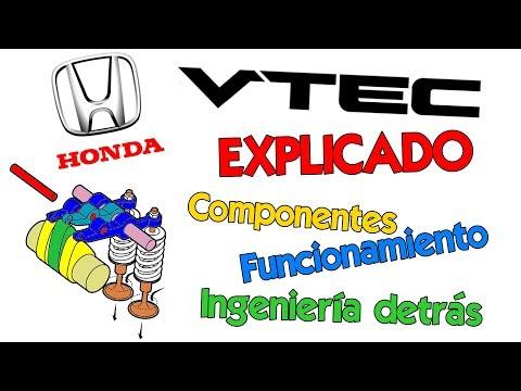 VTEC de Honda Explicado: componentes, funcionamiento, teoría de ingeniería, e historia