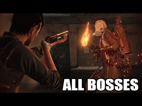 The Evil Within 2 - All Bosses (With Cutscenes) HD 1080p60 PC