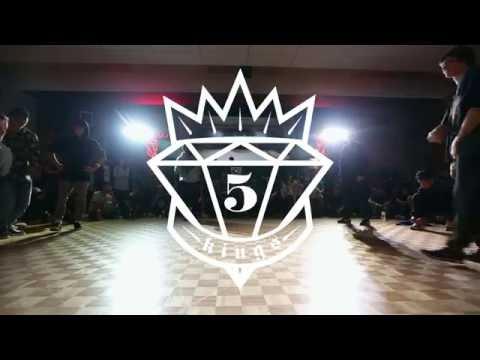 5 Kings 5th Anniversary | Top 8 | Street Kidz vs. Wizard Felons