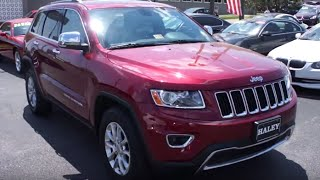 2014 Jeep Grand Cherokee Limited Walkaround, Start up, Tour and Overview