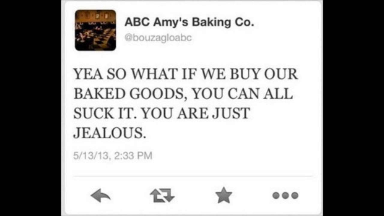 Amy\'s Baking Company Rant - YouTube