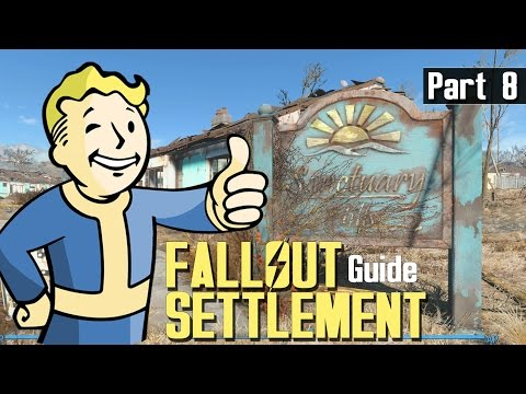 FALLOUT 4 - SETTLEMENT BUILD GUIDE 8 - Lights Power Switches