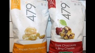 479 Pumpkin Pecan Praline & Dark Chocolate + Bing Cherries Popcorn Review