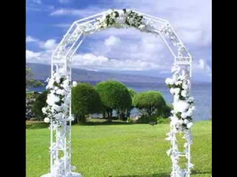 Wedding Arch Decor Ideas - YouTube