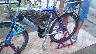 подставка для ремонта , обслуживания и стоянки велосипеда
