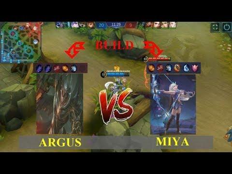 Argus VS Miya - Mobile Legends