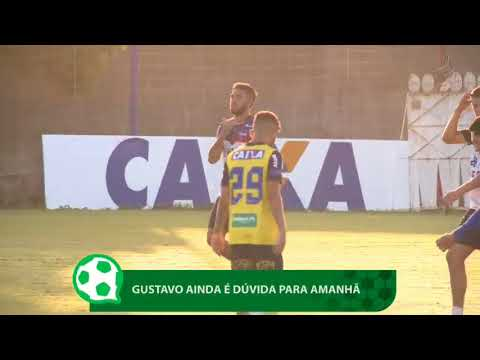 Gustavo ainda é dúvida para jogo Fortaleza x Brasil de Pelotas