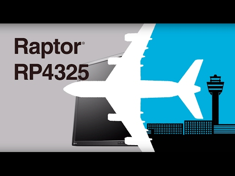 The First 4K2K Monitor Developed Specifically for ATC: Raptor RP4325