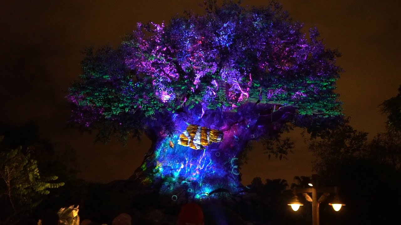 Disney Christmas Tree Lights