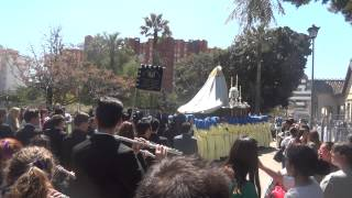 Procesión Gamarra 2015  Virgen con marcha Mi Amargura