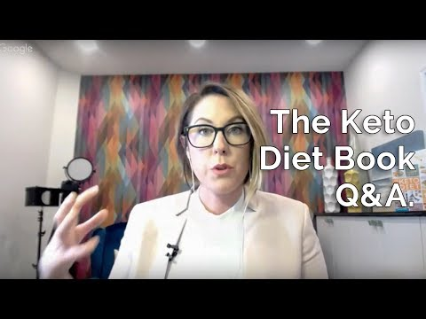 The Keto Diet Book Q&A with Leanne Vogel