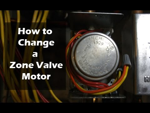 How to Change a Zone Valve Motor - Honeywell