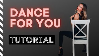 Dance For You - Beyoncé   TUTORIAL   Step by Step   Chair Dance