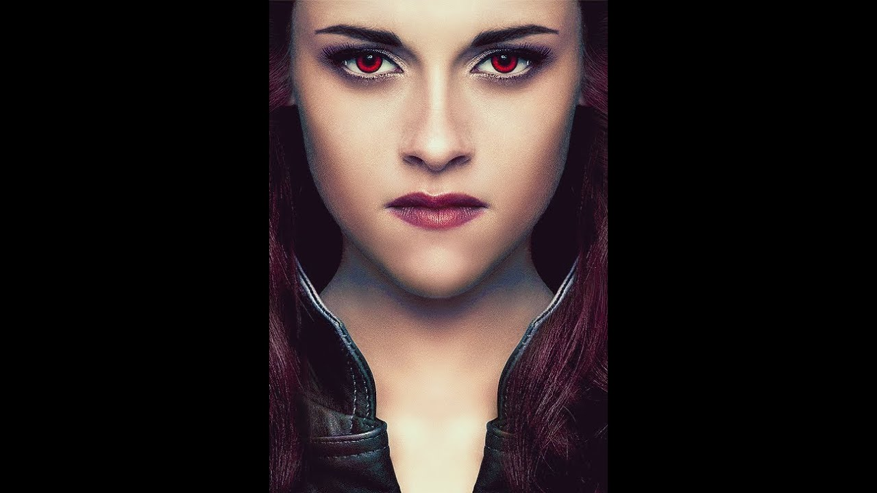 Breaking dawn part 2 Bella swan makeup - YouTube Bellaswan