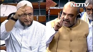 """""""Learn To Listen, Owaisi Sahab"""": Amit Shah Powers Through NIA Bill Debate"""