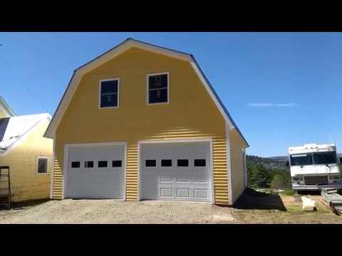 Build a Garage Gambrel Contemporary