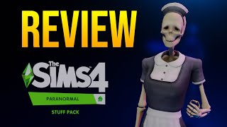Horrifying! The Sims 4 Paranormal Stuff Gameplay Review