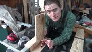 Homemade Table Saw Tenon Jig - Quick And Easy