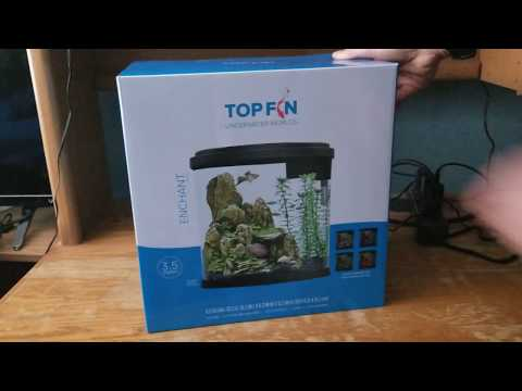 Top Fin Enchant Betta Tank Unboxing