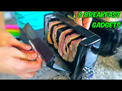 8 Breakfast Gadgets put to the Test