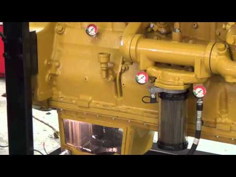 Esoc Series 900 Oil Change Of Caterpillar 3406 Youtube