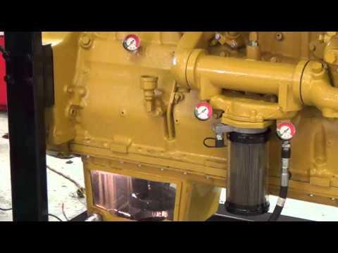 3126 Caterpillar Fuel Filter Truck Esoc Series 900 Oil Change Of Caterpillar 3406 Youtube