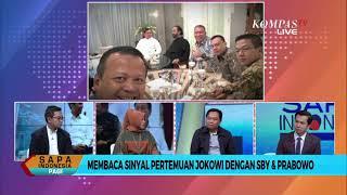 [DIALOG] Membaca Sinyal Pertemuan Jokowi dengan SBY & Prabowo