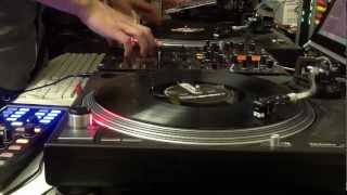 Old School Turntable Routine