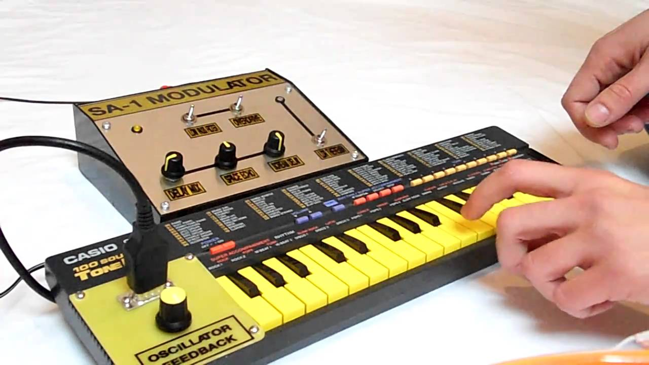 Circuit Bending A Casio Sa 35 Data Wiring Diagrams Keyboards Rc Bent 1 Micro Delay Synth Youtube Rh Com