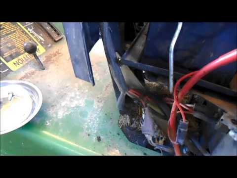 Repairing the Charging System on a John Deere 175 Lawn