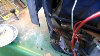 Repairing the Charging System on a John Deere 175 Lawn Tractor