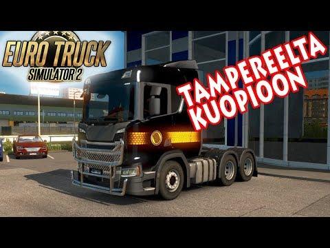 Euro Truck Simulator 2 - Tampere - Kuopio reissu