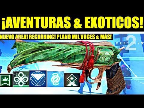 Destiny 2: Nuevos Exóticos & Aventuras! Nuevo Area en la Torre! Plano Mil Voces! Hitos! 2.2.0 & Más! thumbnail