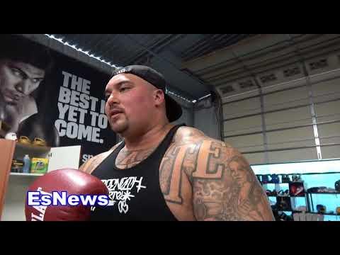 world strongest mexican big boy visits mikey garcia EsNews Boxing