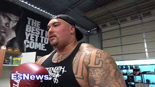 world strongest mexican big boy visits mikey garcia EsNews Boxing