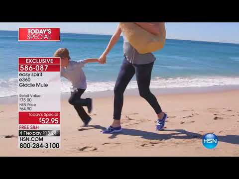 HSN | Easy Spirit Footwear 02.12.2018 - 01 AM