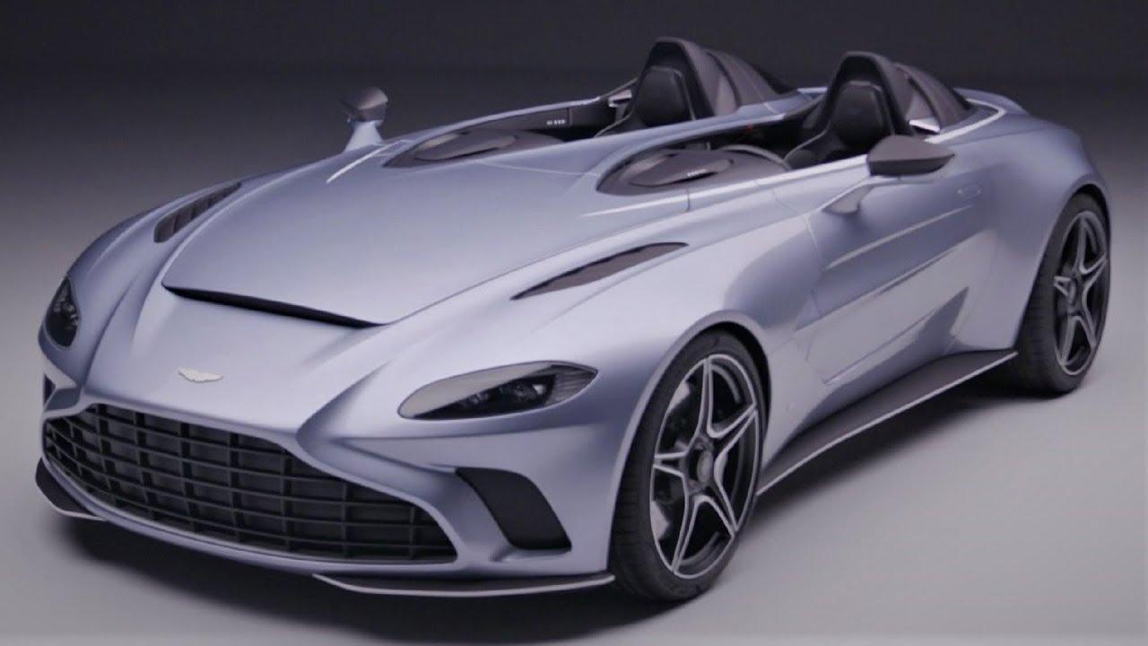2021 Aston Martin V12 Speedster Unique Limited Sports Car Youtube