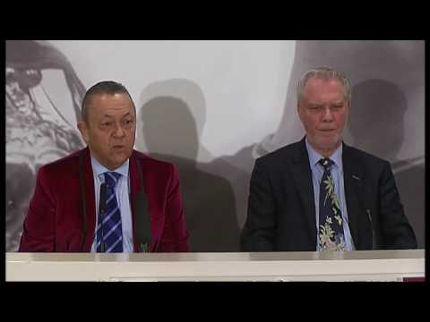 David Sullivan says he has 'come home' to West Ham