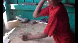Veer madakari Kannada music playing a  amazing kid. Video from My Phone