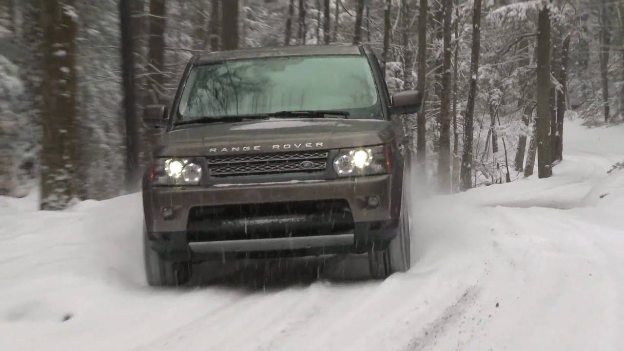 2010 Range Rover in Vermont at th Experience Driving School