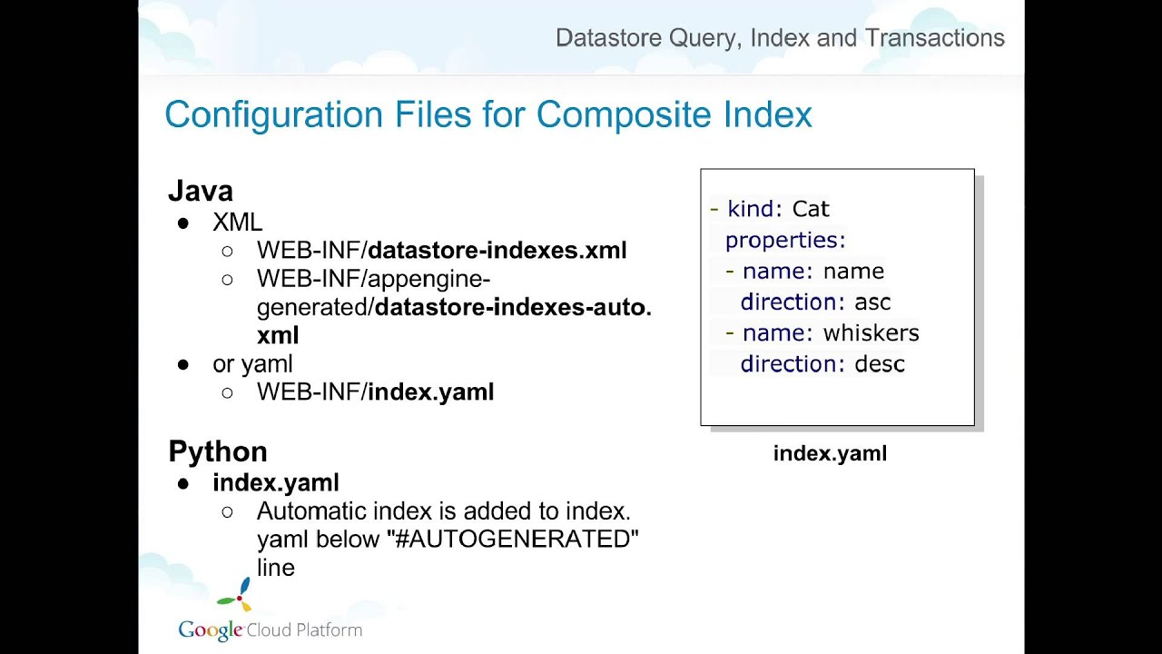 The Python NDB Datastore API - Python — Google Developers