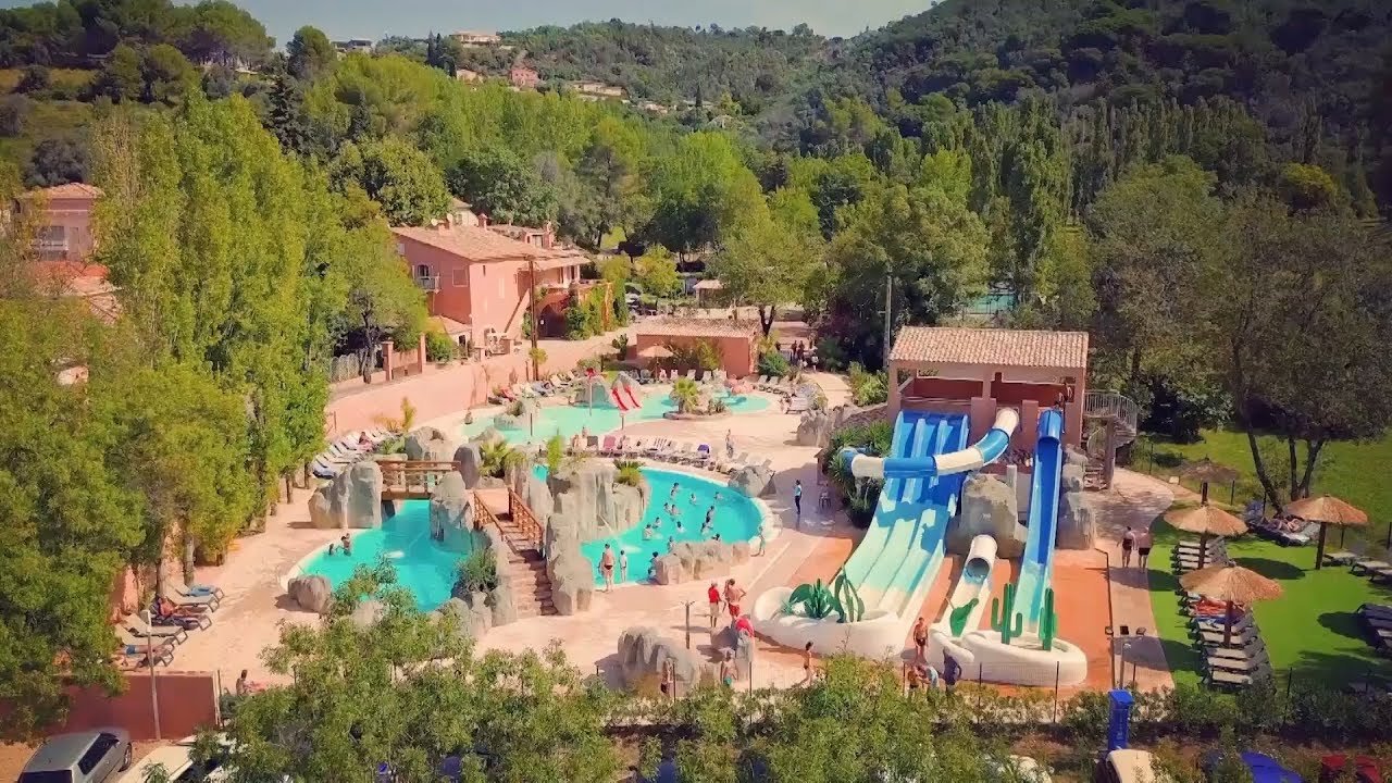 Camping Saint Louis, in the Alpes Maritimes, just beside Cannes