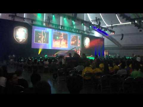 Dancing at David L. Lawrence Convention Center for Isef 2012 opening ceremony.