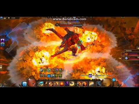 Drakensang Online || Infernal III || All boss with Thewish