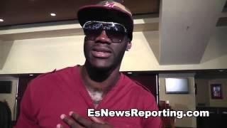 Deontay Wilder on fighting UBF champ Charlie Z in LA  - EsNews Boxing