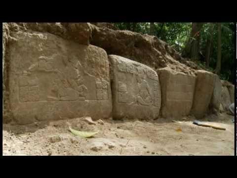 Excavation at La Corona (1300 Year Old Mayan Text Referencing 2012)