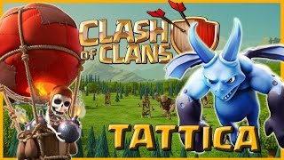 Clash of Clans - TATTICA MONGOLFIERE & SGHERRI TH 8 - .By AntiSfyg