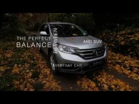 Honda CR-V Off-Road Driving