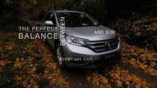 Honda CR-V Off-Road Driving