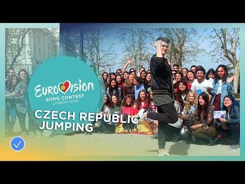 Mikolas Josef from the Czech Republic jumps to the Grand Final